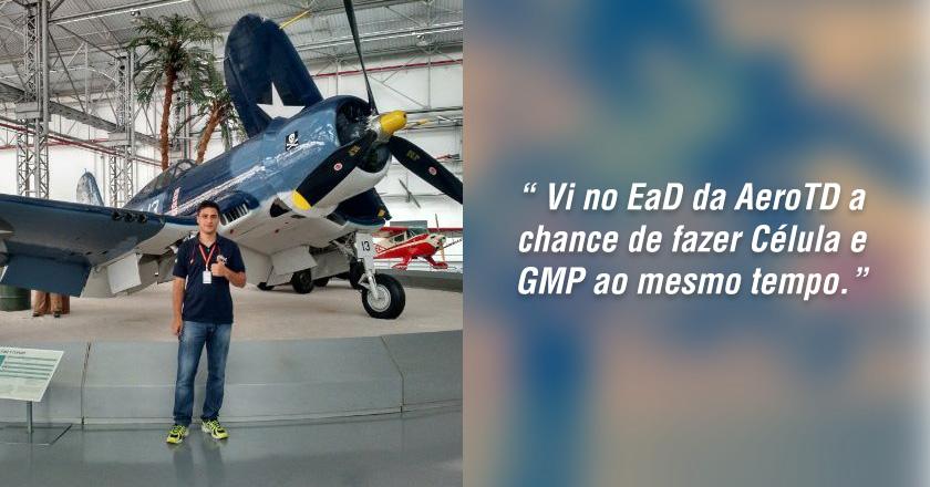 Case de sucesso - Mac Donald fala sobre as vantagens do curso EaD da Aero TD