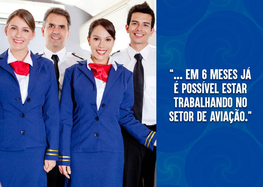 Conheça as vantagens da carreira de comissário de voo 02