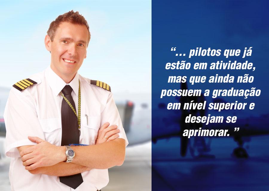 graduação para pilotos