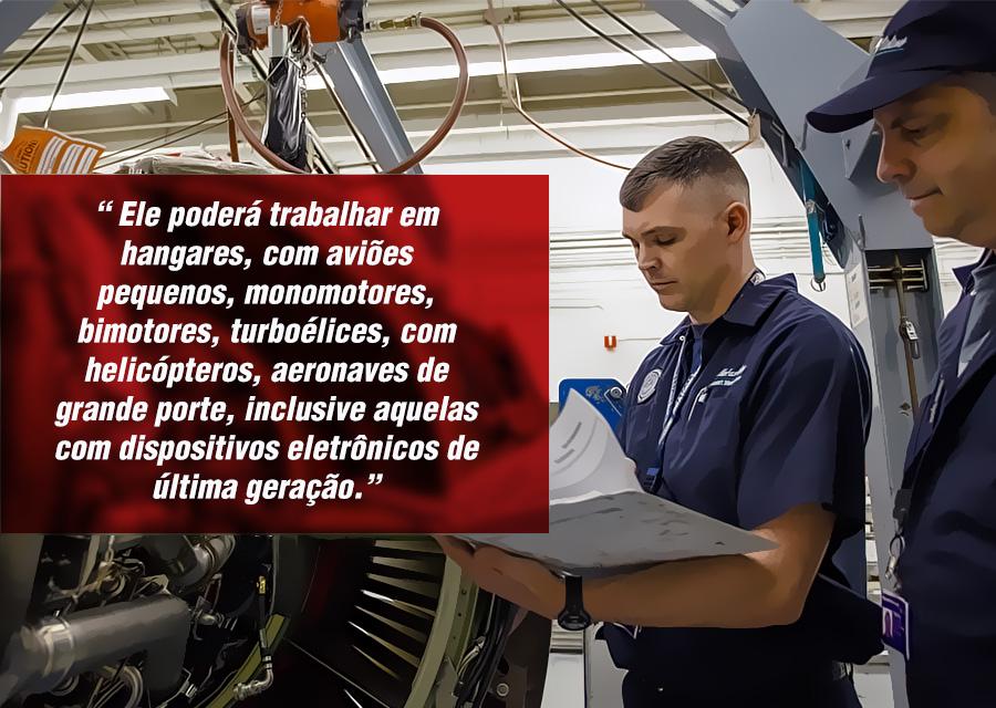 curso de mecânico de aeronaves - carteiras anac - aero td