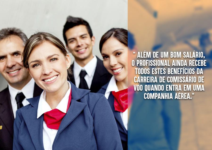 Conheça o mundo e conquiste sua independência - benefícios da carreira de comissário de voo 03