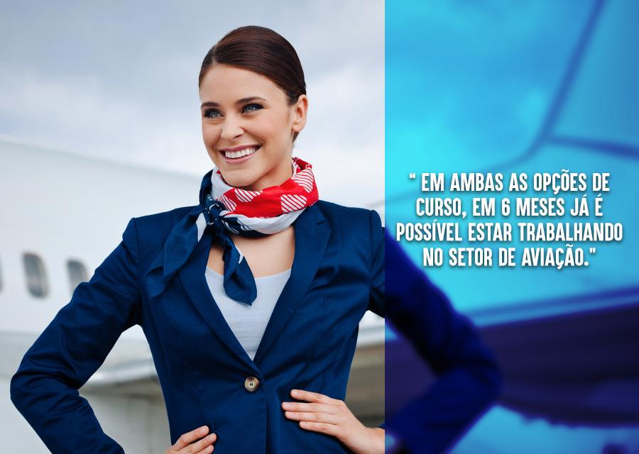 Conheça o mundo e conquiste sua independência - benefícios da carreira de comissário de voo - 04