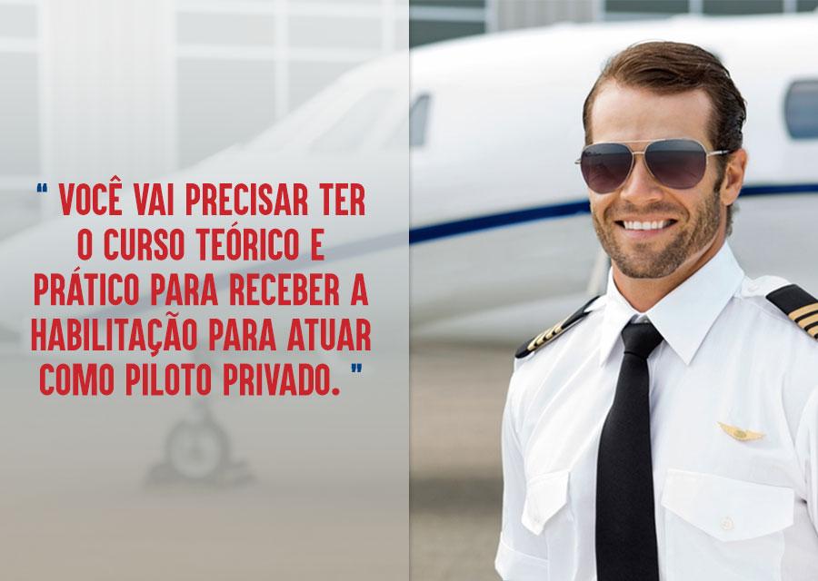 Preciso fazer uma faculdade para ser piloto de aeronaves