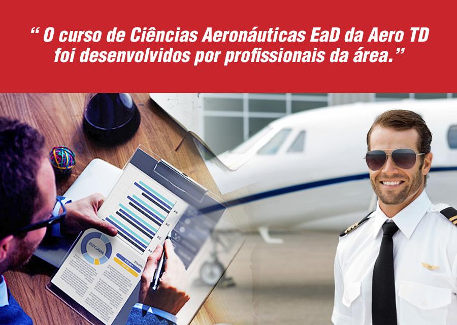 5 vantagens de fazer um curso de Ciências Aeronáuticas EaD - AEROTD