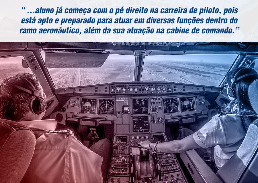 como ter sucesso na carreira de piloto de avião