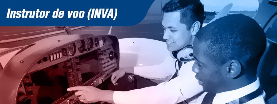 Instrutor de voo INVA