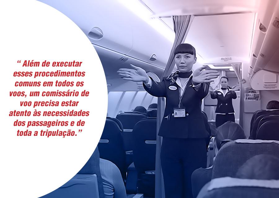 O que realmente faz um comissário de voo e como ingressar nesta profissão