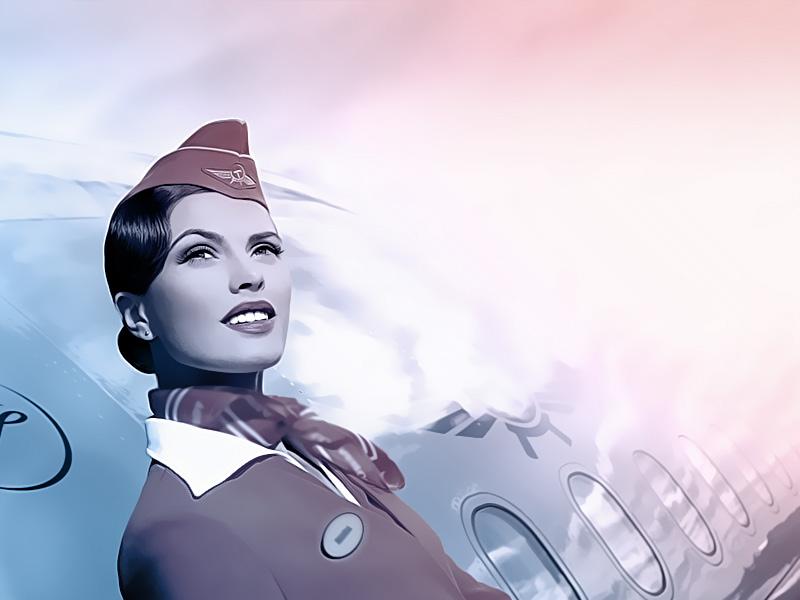 a carreira de comissário de voo
