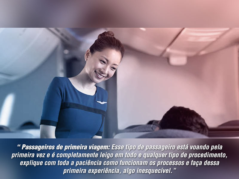 passageiros de primeira viagem