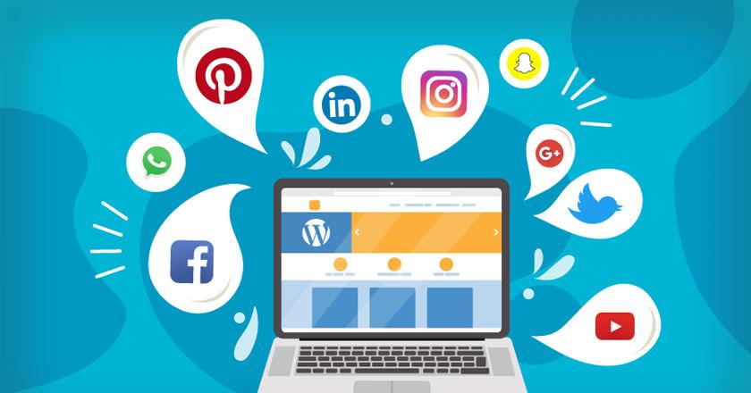 icones redes sociais