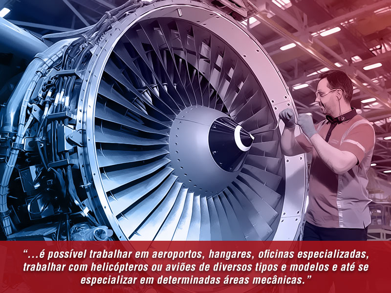 mecanico de aeronaves diversas oportunidades