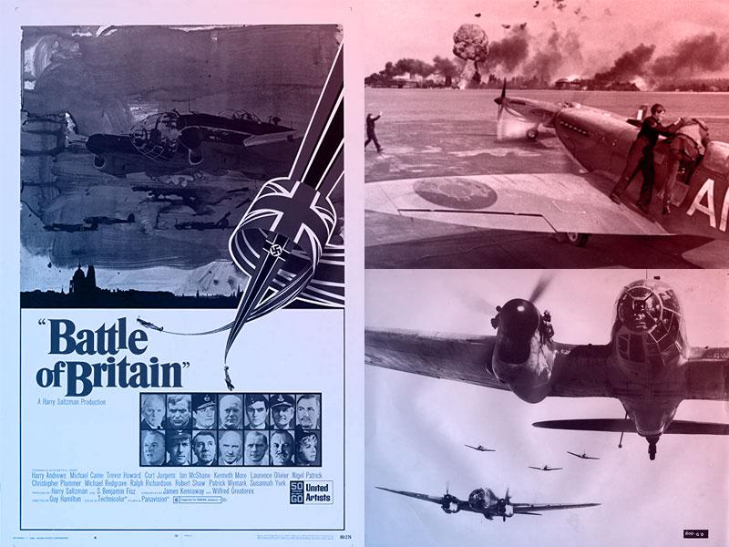 Capa do filme Batalha da Inglaterra