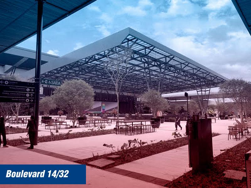 Floripa Airport com praça de alimentação Boulevard 14/32
