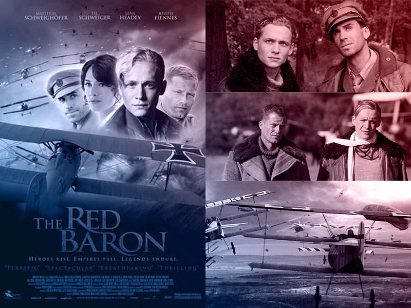 Capa do filme O Barão Vermelho