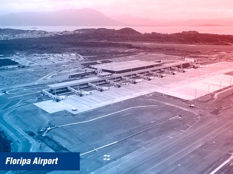 Novo aeroporto de Florianópolis chamado Floripa Airport