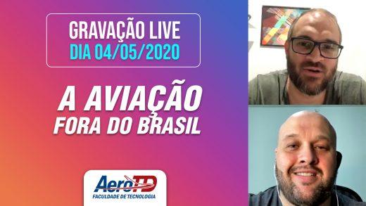 Gravação da LIVE AEROTD com Samuel de Souza