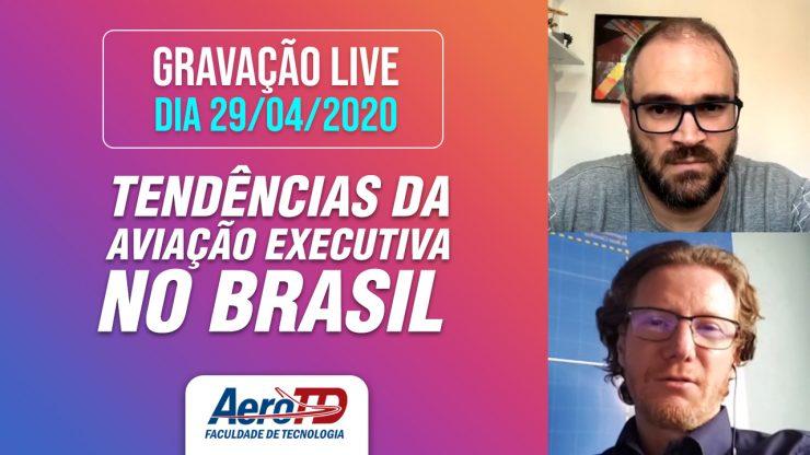 Gravação LIVE AEROTD com Carlos Bertotto