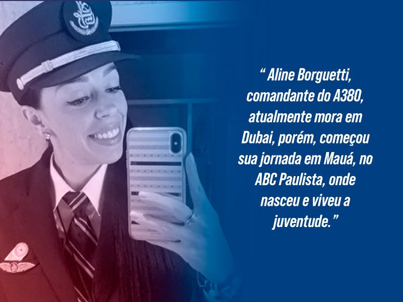 Pilota A380 Aline Borguetti