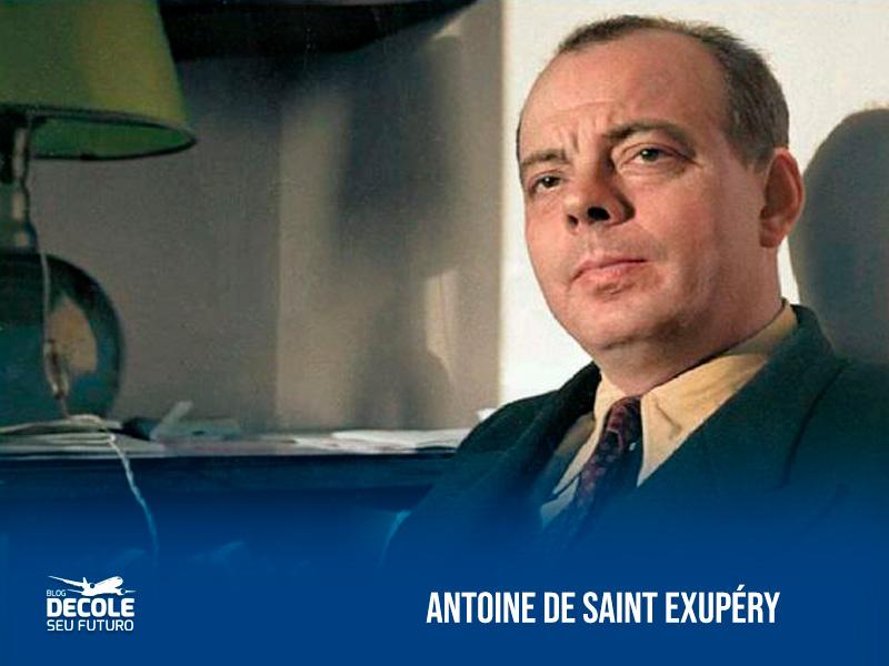 Antoine-de-Saint-Exupéry-escritor-e-aviador