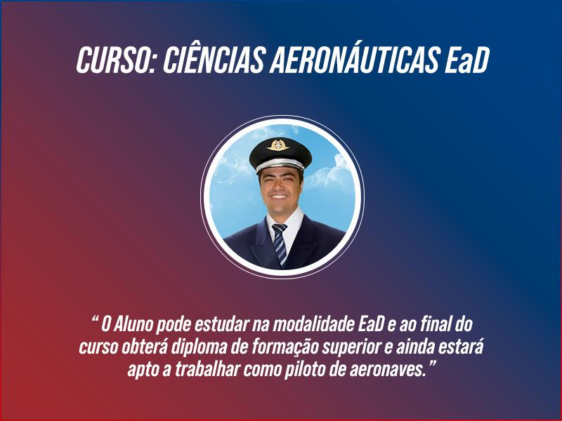 Curso de Ciências Aeronáuticas EaD
