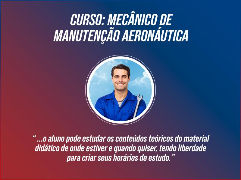 Curso Mecânico de Manutenção Aeronáutica