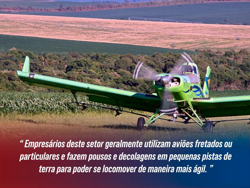 Aviação Executiva no Agronegócio