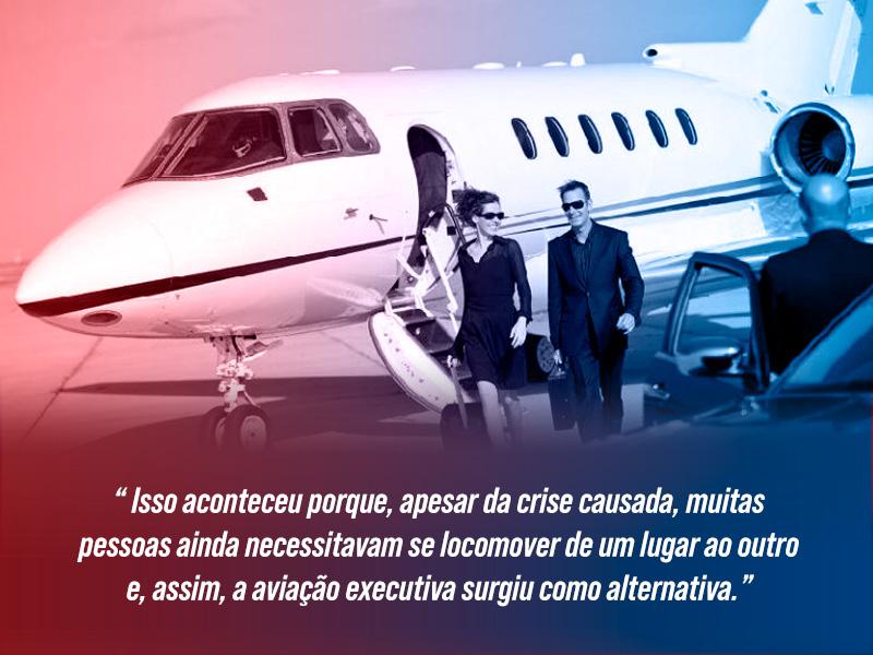 Aviação Executiva cresce