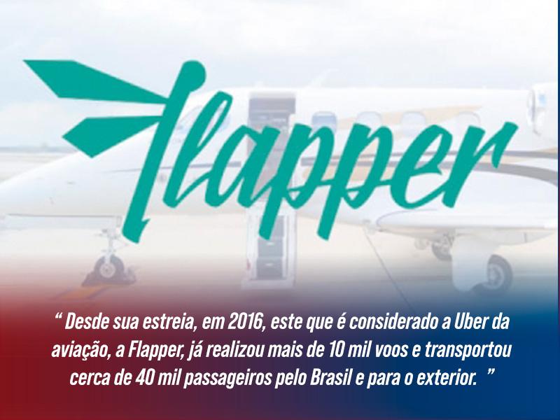 Flapper | Uber da Aviação